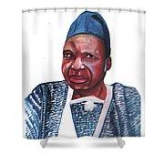 Joseph Ki-zerbo Shower Curtain