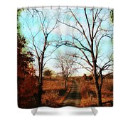 Journey To The Past Shower Curtain