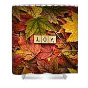 Joy-autumn Shower Curtain