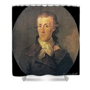 J.p. Brissot De Warville Shower Curtain by Granger