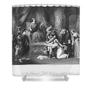 Judgment Of Solomon Shower Curtain