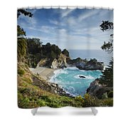 Julia Pfeifer Falls Shower Curtain by Mike Raabe