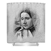 Julia Ward Howe (1819-1910) Shower Curtain