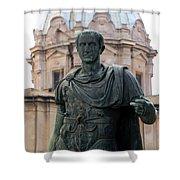 Julius Caesar Shower Curtain