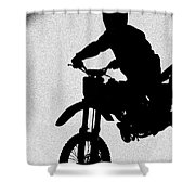 Jumping High Shower Curtain