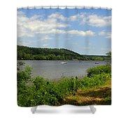 June Along The Connecticut River Shower Curtain