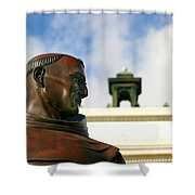 Junipero Serra Shower Curtain