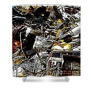 Junky Treasure 2 Shower Curtain