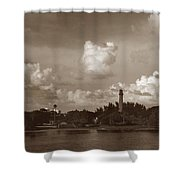 Jupiter Inlet  Shower Curtain
