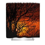 Just A Pretty Sunrise Shower Curtain