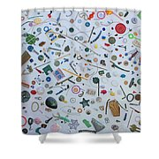 Just A Walk In The Park Shower Curtain