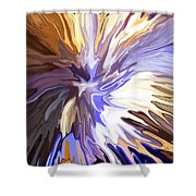 Just Abstract Iv Shower Curtain