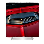 Just Breathe - 1971 Plymouth Hemicuda Shower Curtain