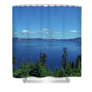 Just One Part Of Crater Lake Shower Curtain