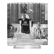 Justinian I (483-565) Shower Curtain