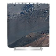 Ka Lua O Ka Oo Haleakala Volcano Maui Hawaii Shower Curtain