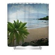 Ka Makani Olu Olu  -  Polo Beach Maui Hawaii Shower Curtain
