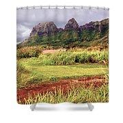 Kalalea Mountain Range Shower Curtain