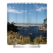 Kalaloch Shower Curtain