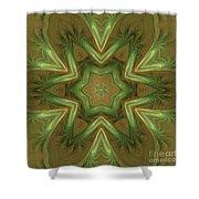Kaleid Flower Shower Curtain