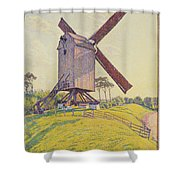 Kalf Mill Shower Curtain