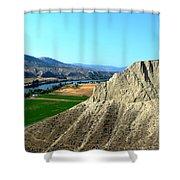 Kamloops British Columbia Shower Curtain