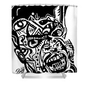 Kamoni-khem Shower Curtain