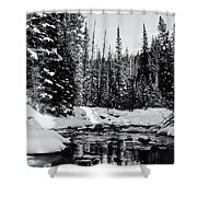 Kananaskis Creek Shower Curtain