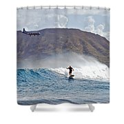 Kaneohe Bay Sufer Mcbh Shower Curtain
