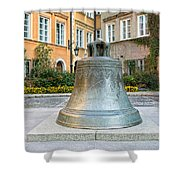 Kanonia Square In Warsaw Shower Curtain
