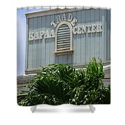Kapaa Trade Center Shower Curtain