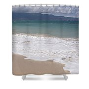 Kapukaulua - Purely Celestial - Baldwin Beach Paia Maui Hawaii Shower Curtain