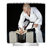 Karate Shower Curtain
