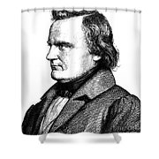 Karl Leberecht Immermann Shower Curtain