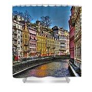 Karlovy Vary - Ceska Republika Shower Curtain