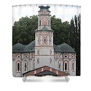 Karls Church Shower Curtain