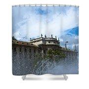 Karlsplatz Fountain Shower Curtain
