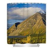 Kathleen Lake, Kluane National Park Shower Curtain