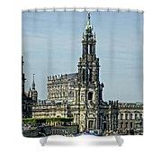 Katholische Hofkirche - Dresden Shower Curtain