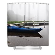 Kayaking Morning Shower Curtain
