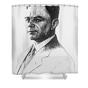 Kazimierz Funk, Polish-american Shower Curtain by Science Source