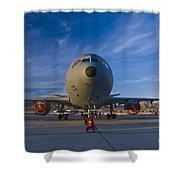 Kc-10 At Sunset Shower Curtain