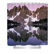 Kearsarge Lake Reflects The Nearby Shower Curtain