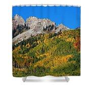 Kebler Pass Shower Curtain