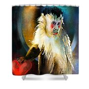 Keep Hold Of My Heart Shower Curtain