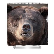 Keep Your Eye On The Camera Shower Curtain
