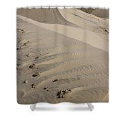 Kelso Dune Tops Shower Curtain