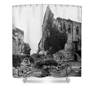 Kenilworth Castle - England - C 1897 Shower Curtain