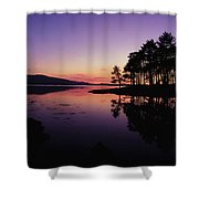 Kenmare Bay, Co Kerry, Ireland Sunset Shower Curtain