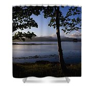 Kenmare Bay, Ring Of Kerry In Bg, Co Shower Curtain
